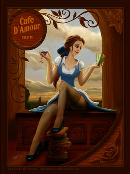 Belle - Beauty and the Beast - Cafe D'Amour