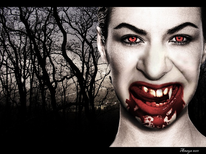 Chica Vampiro. by TheDarkgodo90 on DeviantArt