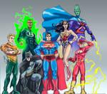 Justice League - modern 7