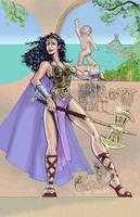 Queen Hippolyte by DragonArcher