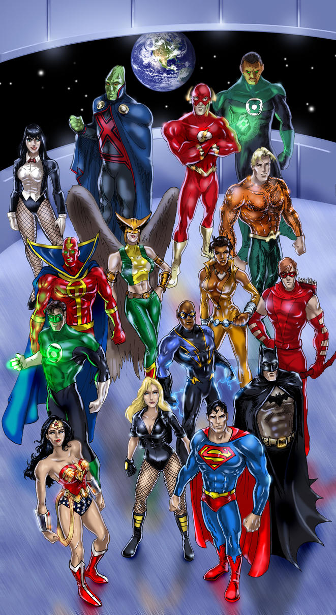 Justice League of America 2008 by DragonArcher