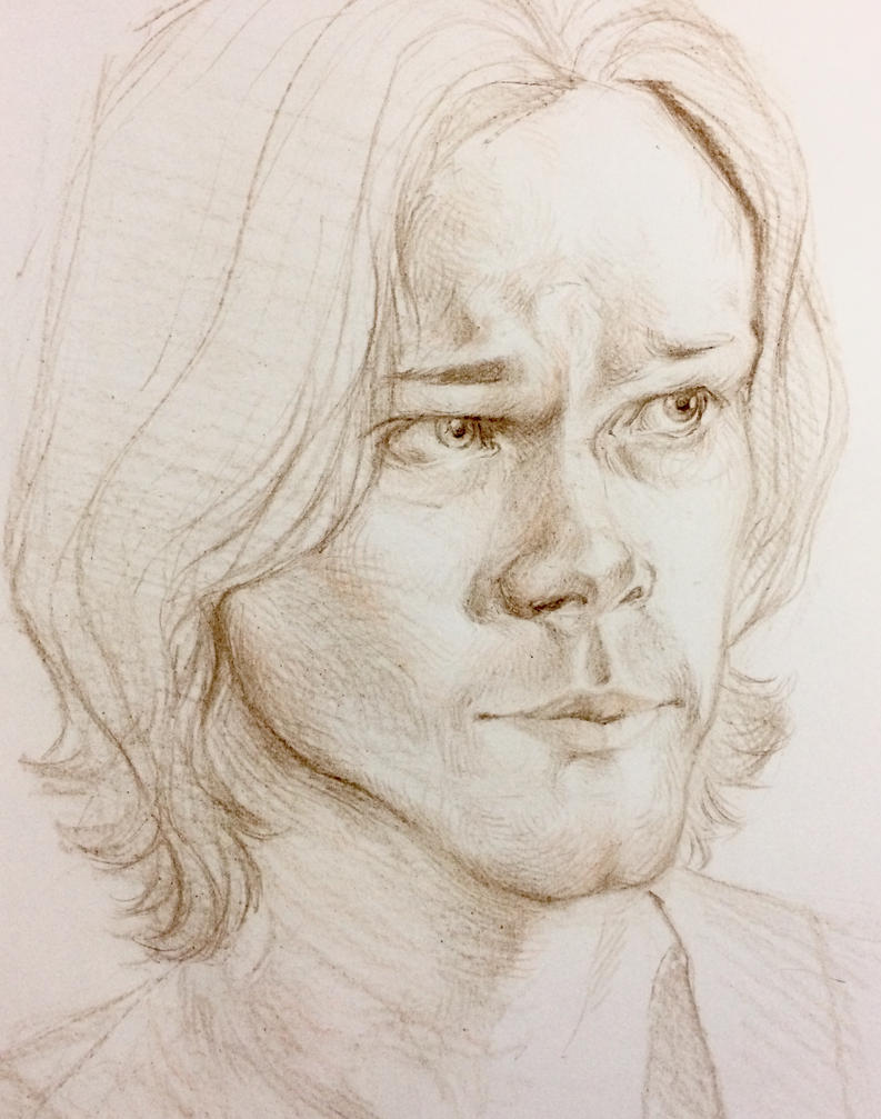 Sam Winchester by Whitefeatherink