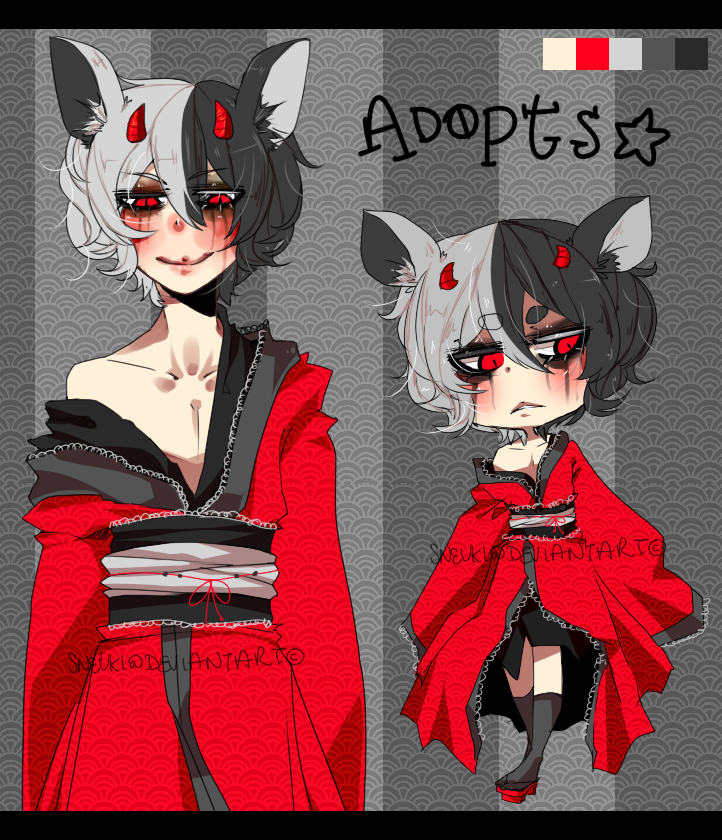 Unnamed Adoptable (Closed) by Mikonii