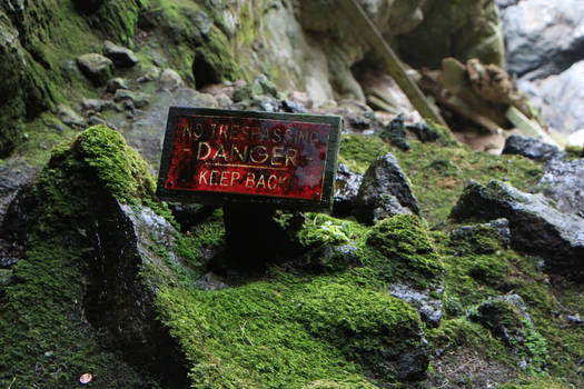 Danger Sign Stock