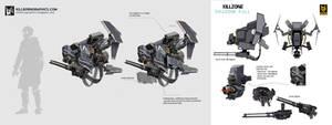 Killzone Shadowfall - Sentry Drone