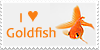 Goldfish stamp by MonocerosArts