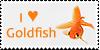 Goldfish stamp by Unicornarama