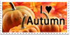 Autumn stamp by Unicornarama