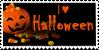 Halloween stamp by Unicornarama
