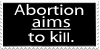 The Fetus Doesn't Just Happen to Die by MonocerosArts