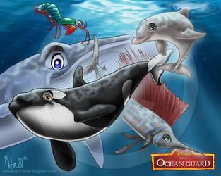 The Ocean Guard by MonocerosArts