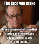 Adoption is NOT Anti-Family