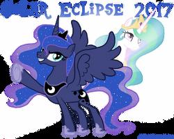 Solar Eclipse 2017 by MonocerosArts
