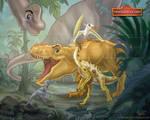 The Dinosaur Guard by MonocerosArts