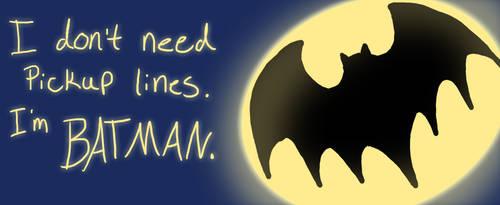 Batman Valentine by MonocerosArts