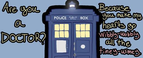 Doctor Who Valentine by MonocerosArts