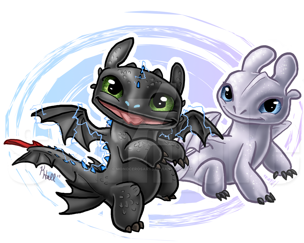 Toothless And Light Fury Deviantart About Townsville