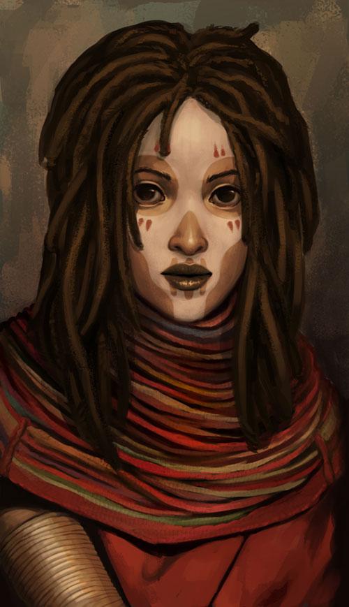 voodoo queen by DanielaUhlig