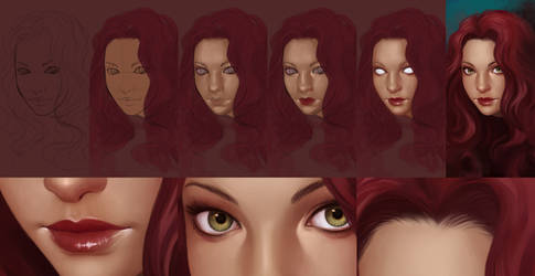 Jen - step by step by DanielaUhlig