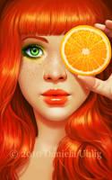 Red Orange by DanielaUhlig