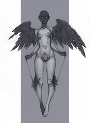 black wings by DanielaUhlig