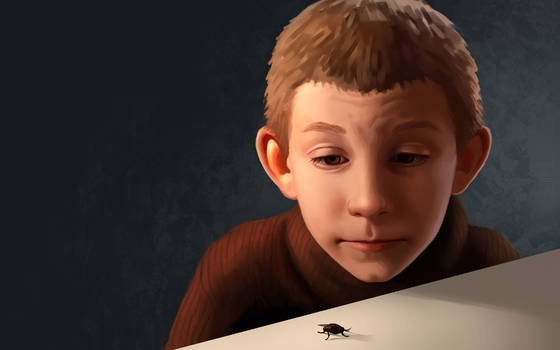 Dewey and the fly