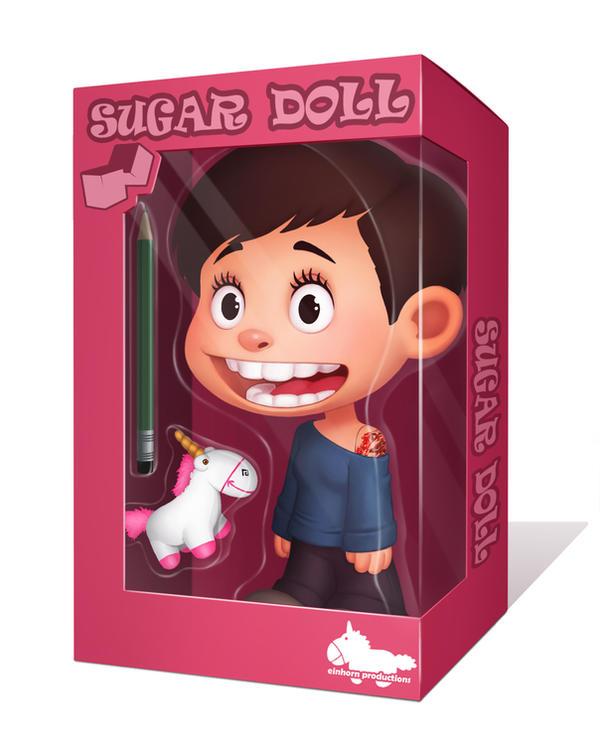 sugar doll by DanielaUhlig
