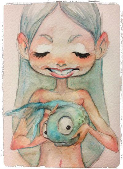 fish by DanielaUhlig