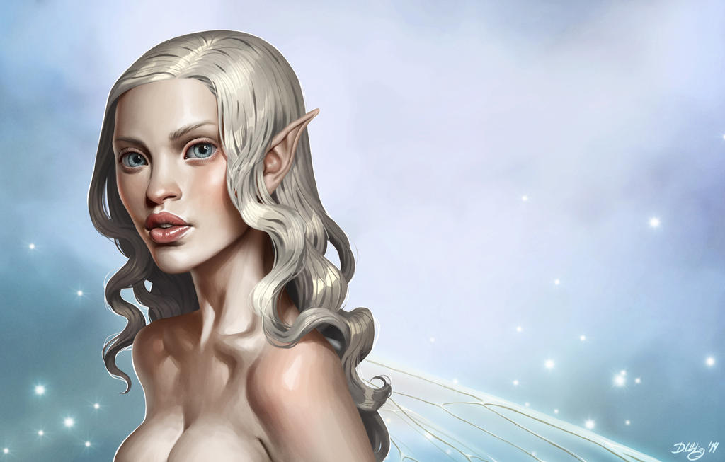 white fairy by DanielaUhlig
