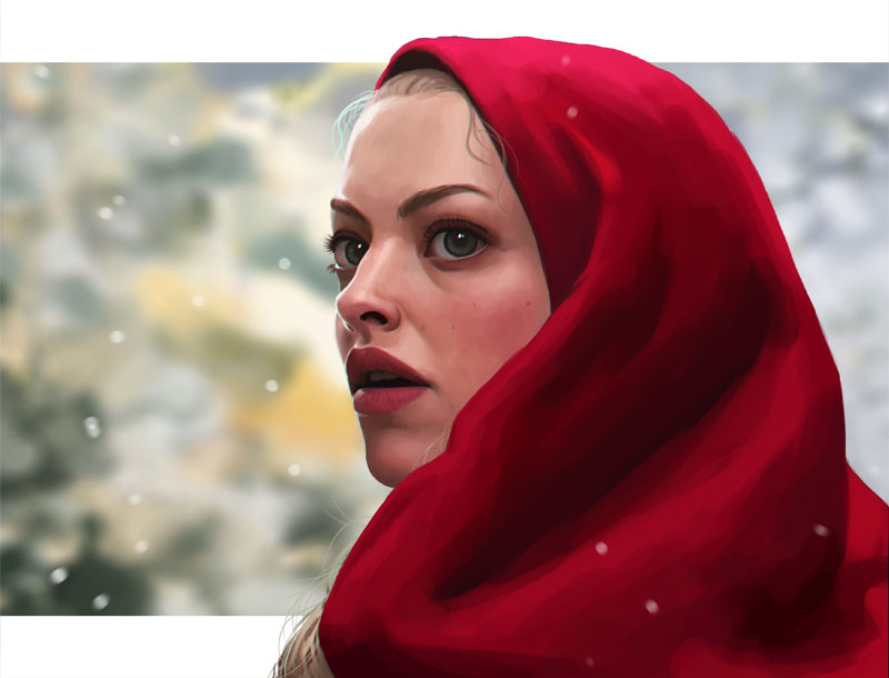 painting practice - Red Riding by DanielaUhlig