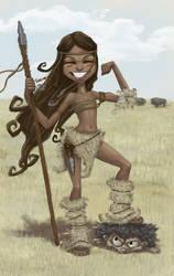 brave warrior by DanielaUhlig