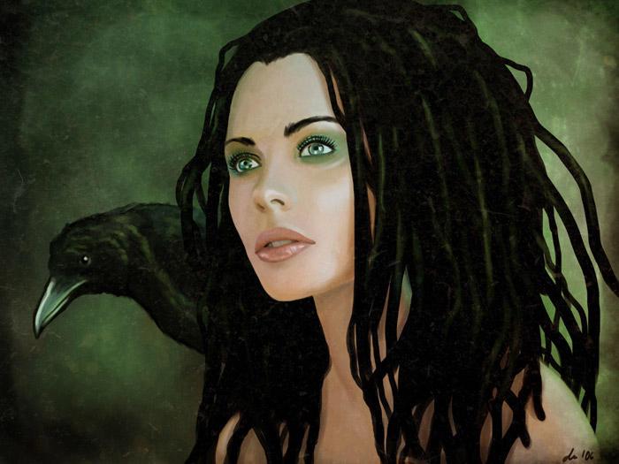 .:raven:. by DanielaUhlig