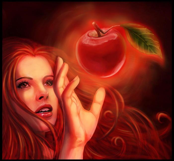 .:forbidden fruit:. by DanielaUhlig