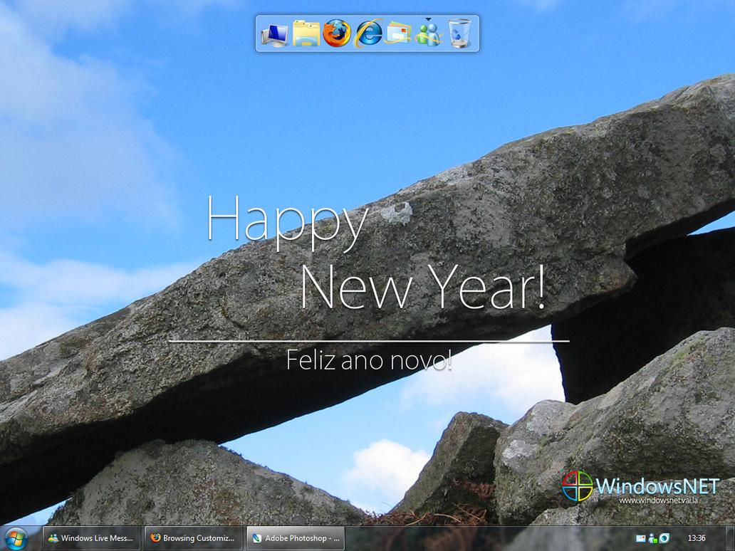 Last desk from 2008 by WindowsNET