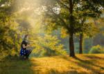 Storybook Minnie with Keyblade by RustedAnchorPhotos