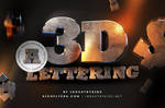 Free 3D Lettering Pack by Industrykidz