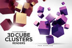 Free 3D Cube Clusters