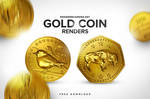 Free Gold Coin Renders Pack