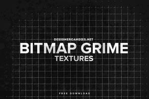 Free Bitmap Grime Textures by DesignerCandies