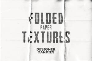 Hi-Res Folded Paper Textures by DesignerCandies