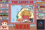 The Lands of Akal