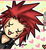 KH: Axel's arms by Fiveonthe