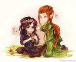 The Hobbit: Flower Crowns