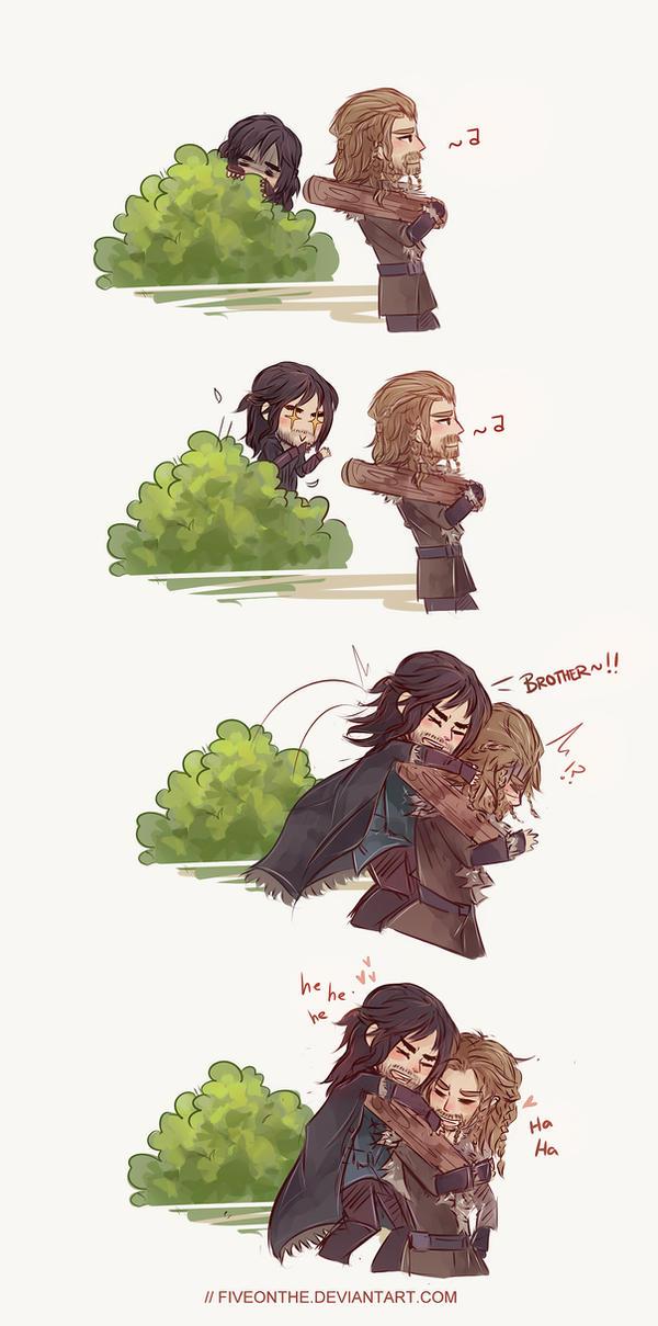 The Hobbit: Playful little bro *3* by Fiveonthe