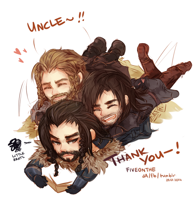 The Hobbit: Durin Pile!!! by Fiveonthe