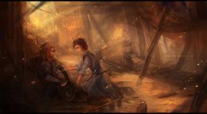 The Hobbit: Fili and Sigrid