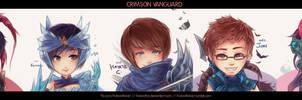 LoL: Crimson Vanguard!