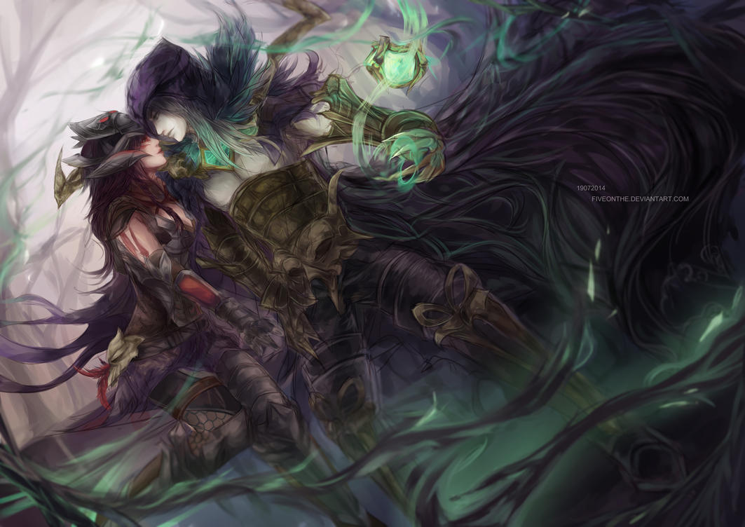 LoL: Soul Stealer and Head Hunter by Fiveonthe