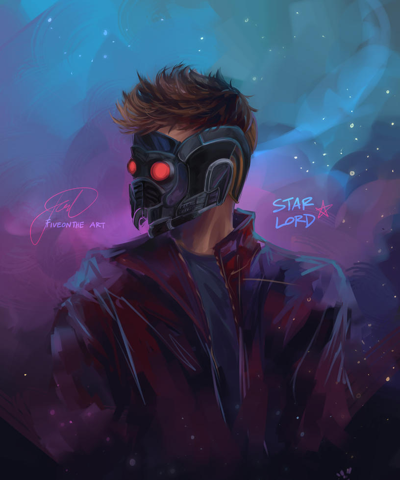 STAR LORD by Fiveonthe