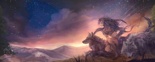 Kingdom Canidae: Grey Wolf. by Fiveonthe